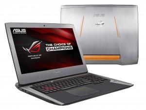 Linia laptopów Asus ROG została zaprojektowana specjalnie dla fanów gier komputerowych