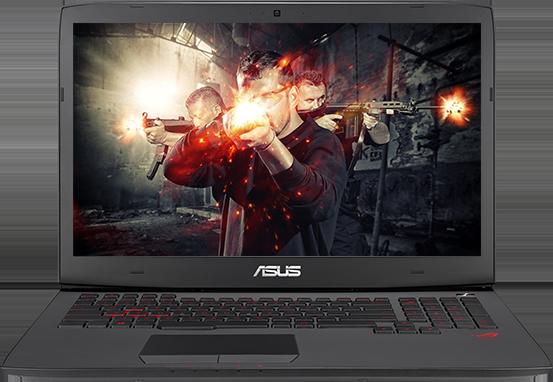 Asus G751J to laptop z serii Republic of Gamers dedykowany entuzjastom gier komputerowych. Firma Asus postanowiła skonstruować sprzęt dla osób, które lubią wielogodzinne rozgrywki w ulubione tytuły, ale niekoniecznie potrafią usiedzieć w jednym miejscu